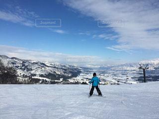 雪山,正月,スキー,山頂,思い出,スキー場,家族旅行,越後湯沢,冬休み,スキー旅行