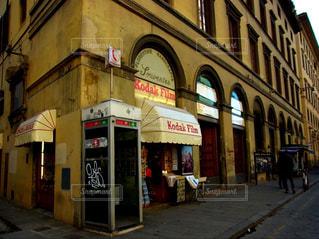 風景,建物,レトロ,観光,旅行,イタリア,海外旅行,通り,ミラノ,コダック