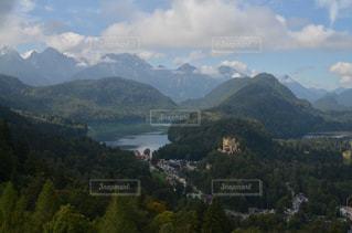 自然,風景,湖,海外,綺麗,お城,山,美しい,旅行,ドイツ,海外旅行,景観,絵画のよう