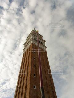 雲,ヨーロッパ,塔,イタリア,ベネチア,海外旅行