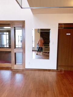 自撮り,屋内,鏡,自分
