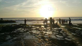 海,夕焼け,サンセット,海外旅行,バリ島,インドネシア,バリ