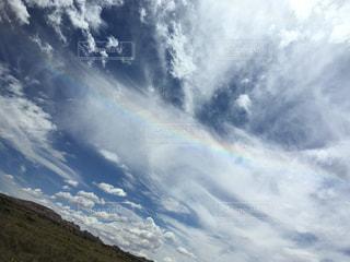 空,雲,青,虹,アメリカ,旅行,思い出,グランドキャニオン,広大