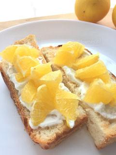 食べ物,朝食,黄色,デザート,果物,トースト,レモン,ミモザ,イエロー,黄,yellow,lemon,toast