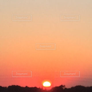 沈む夕日の写真・画像素材[1283222]