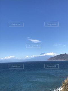 富士山 海 雲