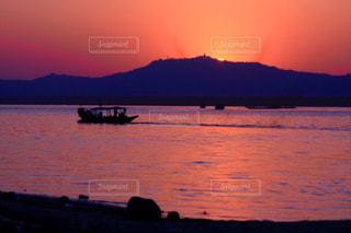 風景,空,ミャンマー,夕陽,サンセット,バガン,観光旅行