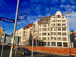 街角,海外,看板,ヨーロッパ,街,ポーランド,スナップ