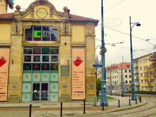 街角,海外,看板,ヨーロッパ,街,建造物,ポーランド,スナップ,歴史的