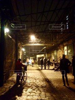 夜,街角,海外,ヨーロッパ,街,建造物,ポーランド,スナップ,歴史的