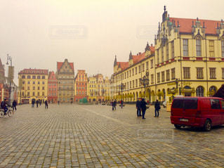 ポーランドの中央広場の写真・画像素材[1828526]