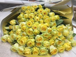 花束,黄色,バラ,イエロー,沢山,黄色のバラ