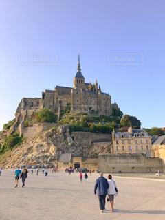 島,フランス,教会,海外旅行,モンサンミッシェル