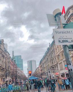 風景,ビル,海外,ドイツ,海外旅行,フランクフルト