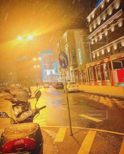 風景,夜,街並み,海外,景色,ドイツ,海外旅行,フランクフルト