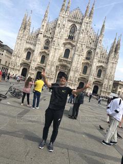 建物,海外,景色,イタリア,海外旅行,ミラノ