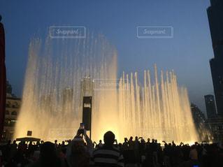 風景,空,水,噴水,海外旅行,ドバイ
