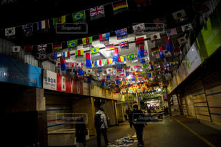 商店街,市場,韓国,東大門市場