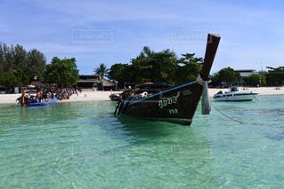 海,空,夏,屋外,海外,ビーチ,ボート,綺麗,船,水面,美しい,旅行,旅,タイ,日中,リペ島,休暇,koh lipe
