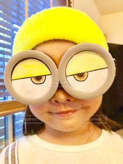 黄色,女の子,ゴーグル,ミニオン,仮装