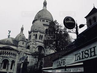 風景,建物,冬,古い,旅行,石,通り