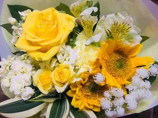 花,春,花束,黄色,プレゼント,贈り物,イエロー,ありがとう,送別会,きいろ,yellow,お別れ,お疲れ様,頂き物,送別