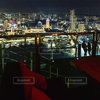 夜景,景色,観光,旅行,シンガポール,海外旅行,マリーナベイサンズ