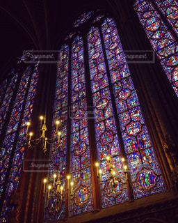 観光,旅行,フランス,ステンドグラス,教会,海外旅行,チャペル