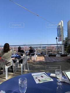 カフェ,桜,花見,熱海
