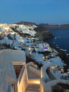 建物,夜景,島,観光,旅行,ギリシャ,海外旅行,サントリーニ