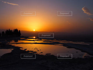 自然,夕暮れ,旅行,トルコ,海外旅行
