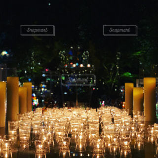 candle nightの写真・画像素材[1874835]