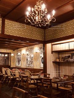 レトロなカフェの写真・画像素材[2281429]