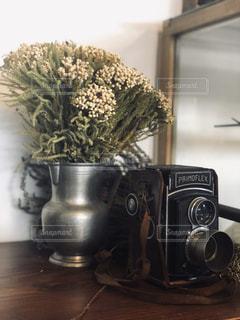 レトロなカメラの写真・画像素材[2831883]