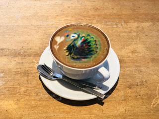 可愛いコーヒーの写真・画像素材[2897636]
