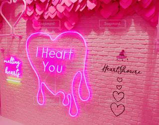 ピンクの花のクローズアップの写真・画像素材[2122237]