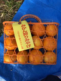 秋,オレンジ,バスケット