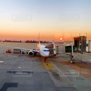 風景,空,海外,綺麗,夕焼け,飛行機,朝焼け,旅行,空港,海外旅行,KOREA,素敵,搭乗,ソウル,仁川空港,Seoul