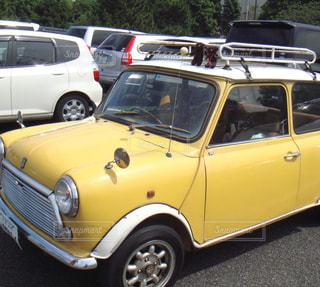 かわいい,車,黄色,楽しい,ミニ,イエロー,クラシック,ミニクーパー,ミスタービーン