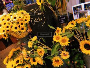 夏,大阪,ひまわり,花束,フラワー,黄色,夏休み,天王寺,花屋,sunflower,yellow