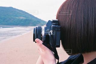 カメラ女子の写真・画像素材[1844268]