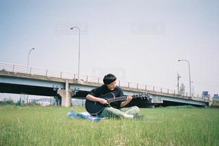 芝生の写真・画像素材[2067487]
