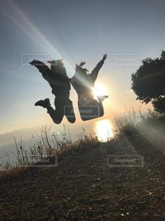 空を飛ぶの写真・画像素材[2168639]