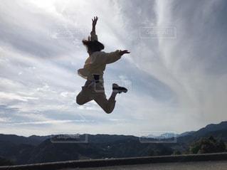 ジャンプの写真・画像素材[2980110]