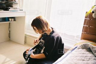 ギターの写真・画像素材[3199879]
