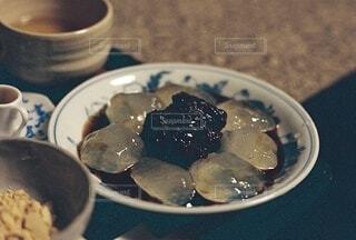 葛餅の写真・画像素材[3903557]