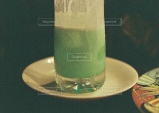 クリームソーダの写真・画像素材[3903578]