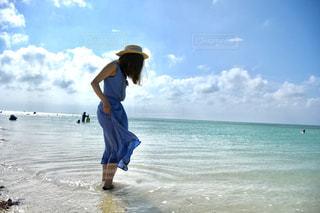 沖縄の海の写真・画像素材[2282633]