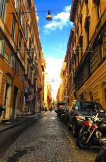 道,路地,イタリア,雨上がり