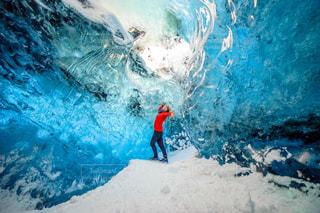 風景,冬,絶景,雪,景色,氷,観光,海外旅行,冒険,思い出,アイスランド,冬休み,氷の洞窟